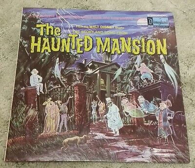 The Haunted Mansion Walt Disney Record Vinyl LP & Book 1969