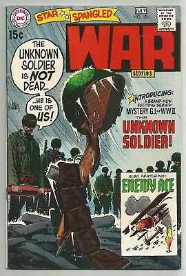 Star Spangled War Stories No. 151 July 1970 Unknown Soldier 1St Solo App. Dc Fn