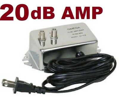 Hd Antenna Ota Inline Amplifier Signal Booster Cable Tv Amp Shaw Rogers Comcast