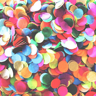 1Pack Mixed Color Tissue Circle Paper Throwing Confetti Wedding Party Supply DIY