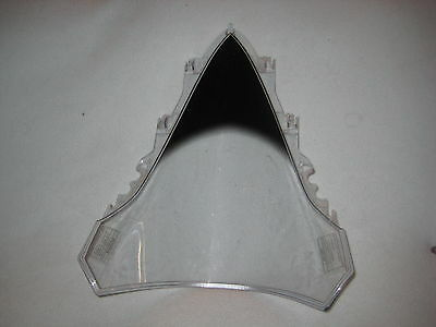 07 08 2007 2008 Yamaha YZF R1 YZFR1 Windshield  Clear / Black Tip Front Fairing