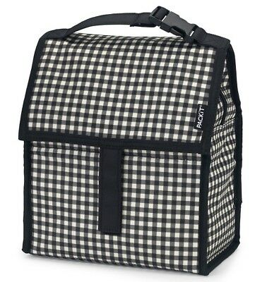 NEW PackIt Freezable Gingham LunchTotes