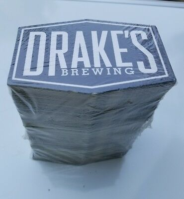 BEER COASTER DRAKES Brewing Barrel House  San Leandro, CALIFORNIA sealed case
