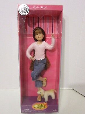 Only Hearts Club Olivia Hope Doll W Pet Sealed Brand NEW!