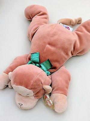 Ty Pillow Pals Monkey Swinger Soft Toy  Cuddly Teddy 1997 New with Tag
