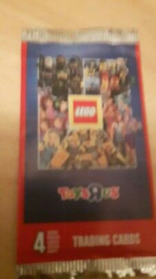 lego pack trading cards