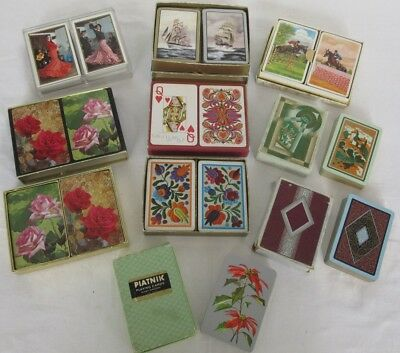 Selection of Collectable Playing Cards. 13 Decks. See Photos.
