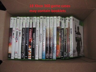 Wholesale Lot Xbox 360 15 WHOLE GAMES 18 GAME CASE
