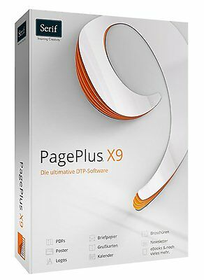 PagePlus X9 Publisher Page Plus Professionelle DTP Software EAN 4023126118219