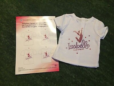 American Girl Doll Isabelle GOTY 2014 Exclusive T-Shirt