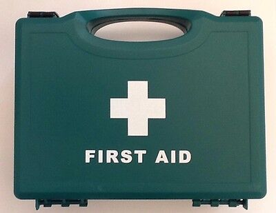 Catering First aid kit - HSE 10 person in green plastic box - (Food Hygiene)
