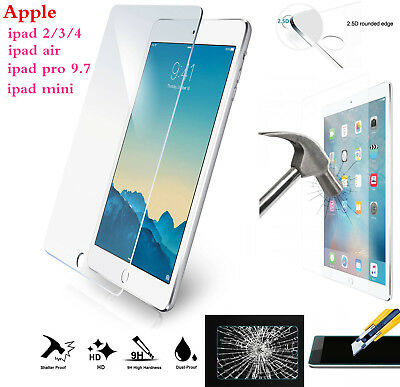 Glasses Front High Mini4 Air Screen Protector For Tempered Shockproof LCD Ipad