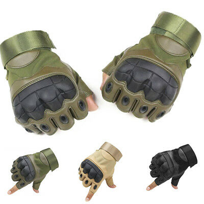 Outdoor Half Finger Military Tactical Hunting Shooting Cycling Gloves Healthy