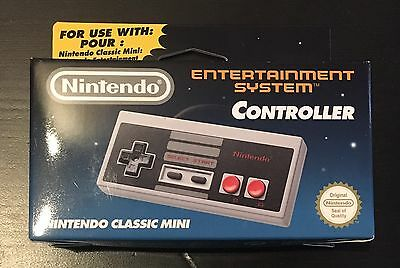 Official Nintendo Classic Mini NES Controller Original Neu OVP Genuine Brand New