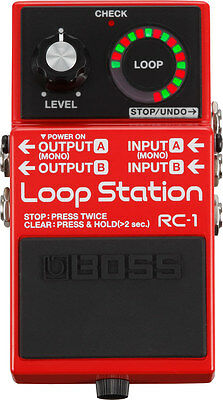 Boss RC-1 Loop Station Looper Guitar or Bass Effect Pedal - Brand New!