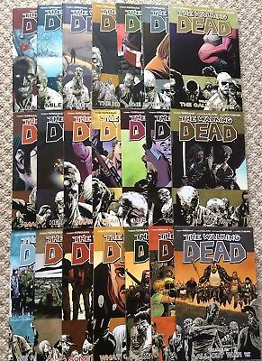 The Walking Dead Graphic Novels Volume 1-21 - Issues 1-126