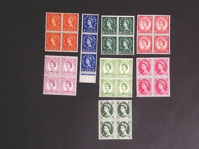 Stamps Of Great Britian (mint )