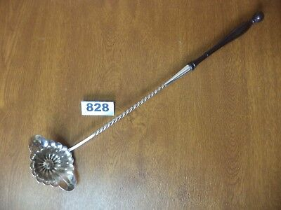 Armand Fresnais France  41 cm Victorian French Silver Plated Punch / Toddy Ladle