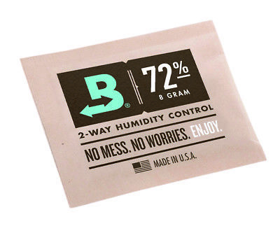 Boveda Humidipak 8 Gram (Medium) 10 Pack 2-way Humidity Control 72% RH RM24