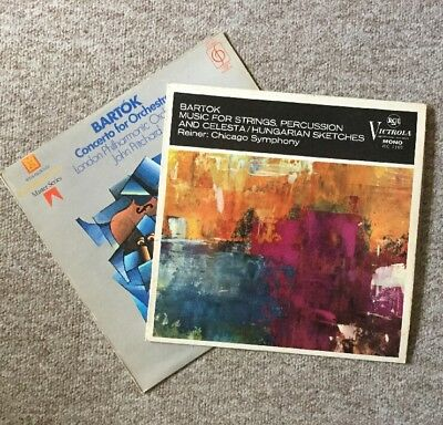 Bartok String Percussion, Shining Ost / Concerto Orchestra Set Job Lot