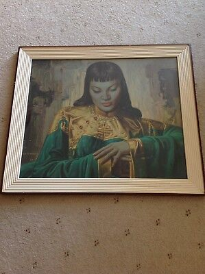 Lady From Orient Vintage Tretchikoff Print
