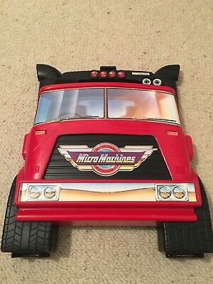 Micro Machine Truck Carry Case And 33 Cars /bikes.