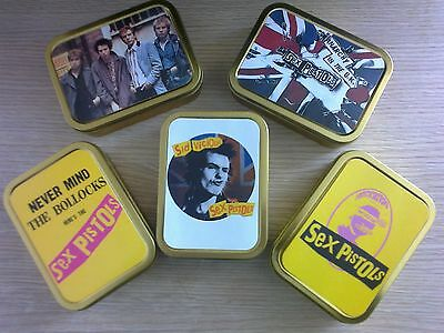 Sex Pistols 2oz Tobacco Tin 5 Designs