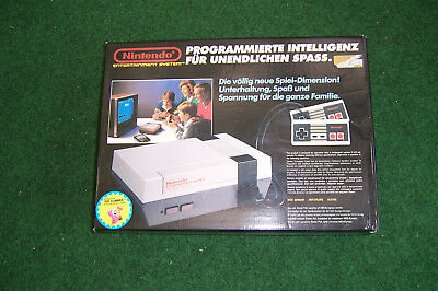 OVP Nintendo Entertainment System 1986 Top erhalten + Original