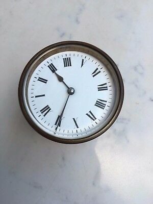 French Clock 8 Days Movement, Repair, Diameter 97.7mm x 83.7mm