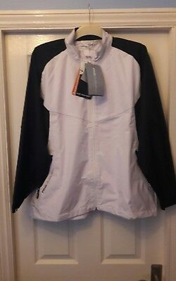 Ladies Ping Collection Waterproof Windproof Jacket Size Uk 18.driver,putter,golf