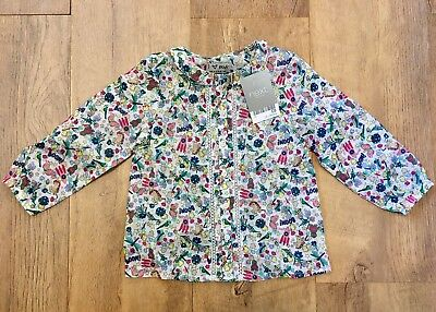 BNWT Next Top Blouse 12-18 Months Baby Girl New