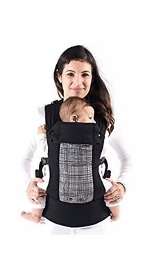 Beco Gemini Baby Carrier In Scribble Design Black And White RRP £115