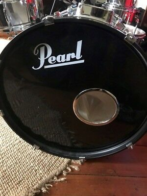 PEARL EXPORT DRUM KIT. Cymbal Stands. Kick pedal