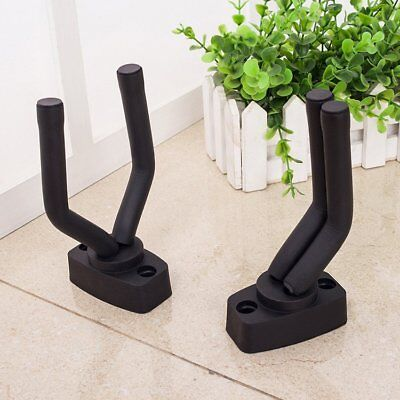 Guitar Hanger Stand Holder Wall Mount Display Acoustic Electric For All Size EB