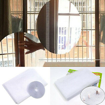 Invisible Anti Mosquito Net Window Screen Mesh Insect Fly Bug Curtain Protector