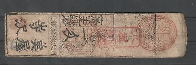 Japan or China small old cover