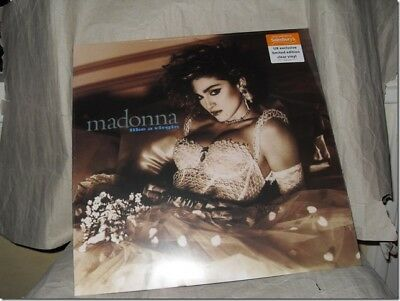 Madonna - Like A Virgin Limited Edition Clear Vinyl Sainsbury's New Sealed