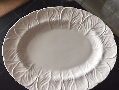 Large Coalport Country Ware White Platter