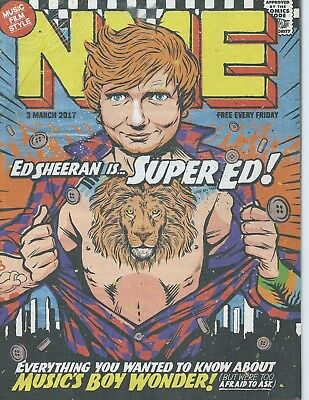 NME Magazine - 03 March 2017 - Ed Sheeran Russell Howard London Grammar Austin