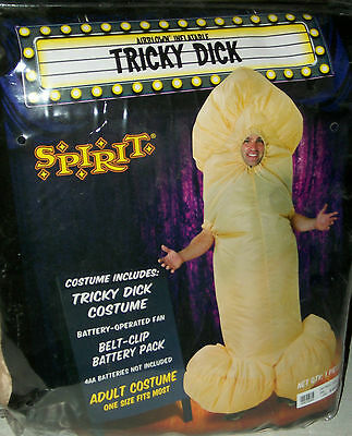Tricky Dick inflatible Halloween party trick or treat Mardigra costume gay int
