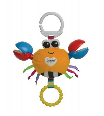 Lamaze Clackety Claude Clip On Pram & Chair Baby Kids Play & Grow Pull String