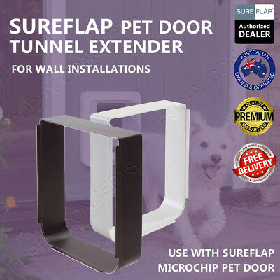 SureFlap Pet Door Tunnel Extender PetFlap Wall Install Dog Cat Microchip Long