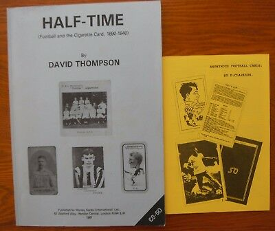 Half time and UK Soccer Card Books
