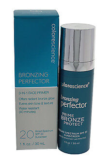 Colorescience Bronzing Perfector 3-in-1 Face Primer SPF 20 Foundation 29.5 ml