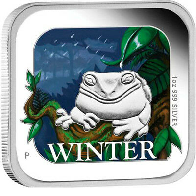 Australia 2013 1$ Winter Australian Seasons 1 oz Proof Silver Coin