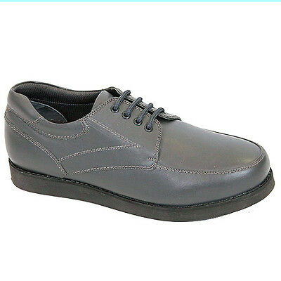 "EMSMORN ""WINDSOR"" GENTS LACE-UP BOWLS SHOES - GREY  var.sizes.  FREE POSTAGE."