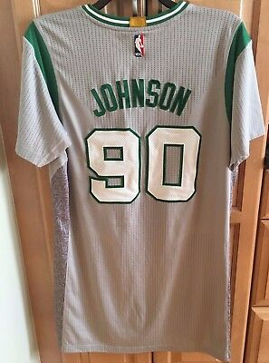 Amir Johnson 2016-17 Boston Celtics Gray Game Worn Jersey NBA