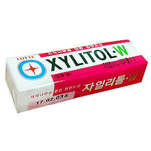 Made In Korea Lotte Chewing Gum Flavor Xylitol W