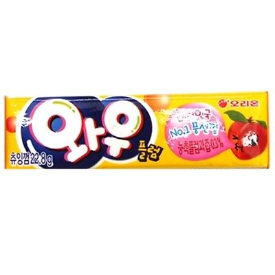 Made In Korea Orion Wow Chewing Gum Flavor Plum