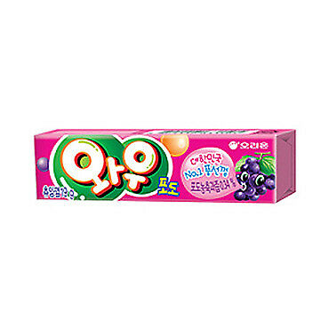 Made In Korea Orion Wow Chewing Gum Flavor Grape